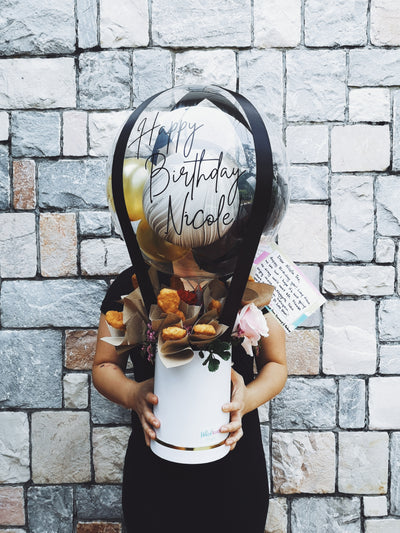 Hot Air Balloon Bouquet - Nuggets