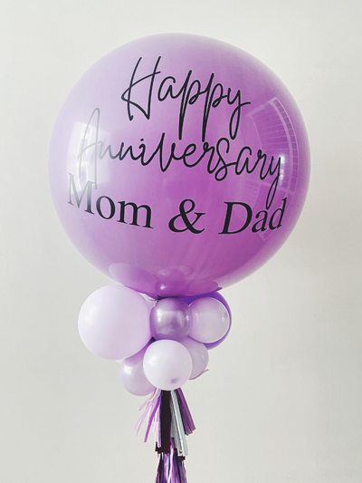 Jumbo Latex Balloon - Lilac - WhichKraft Projekt