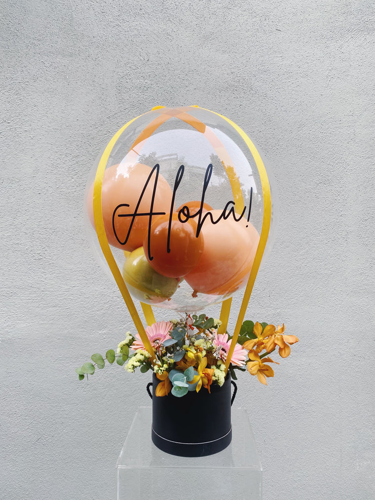 Hot Air Balloon Bouquet - Aloha