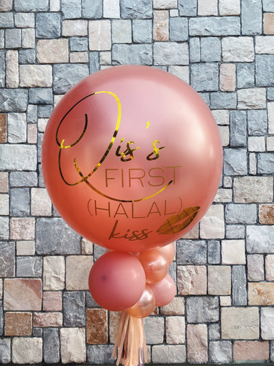 Jumbo Latex Balloon - Rose Gold
