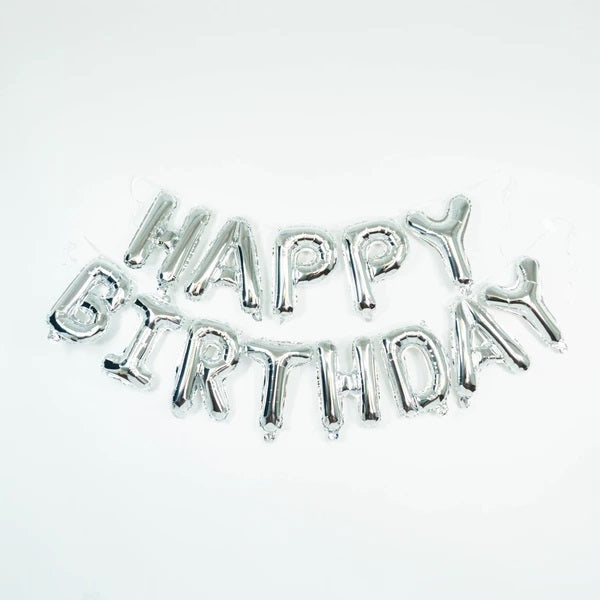 HAPPY BIRTHDAY FOIL GARLAND - GOLD