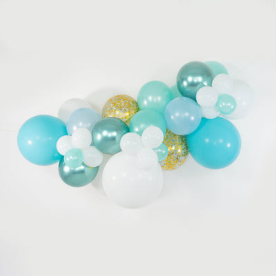 Mini Balloon Garland - Caribbean Glitter - WhichKraft Projekt