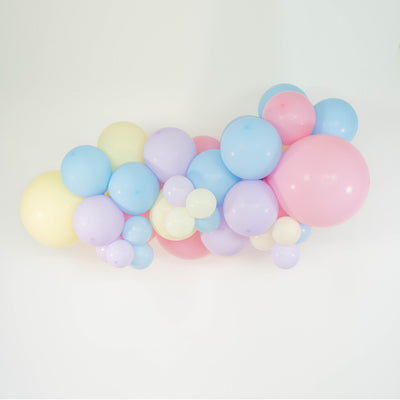 MINI ORGANIC BALLOON GARLAND - PASTELS