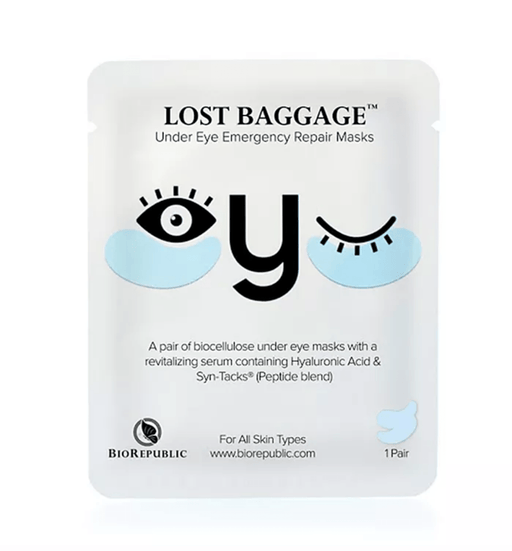 Face Mask Lost Baggage Under Eye Emergency Repair Masks BioRepublic SkinCare