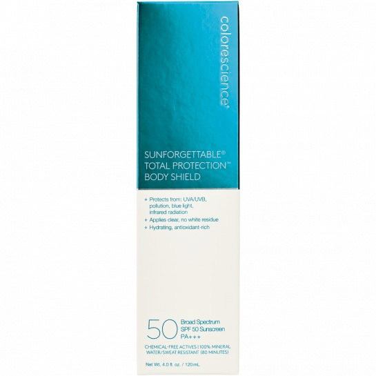 Sunscreen Colorescience Sunforgettable Total Protection Body Shield SPF 50 Colorescience