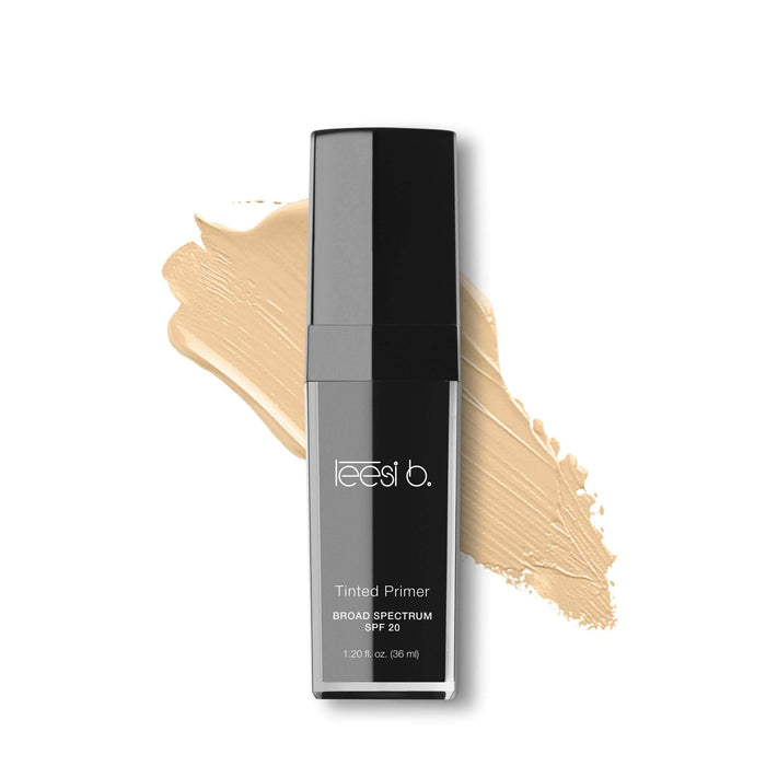 Face Primer Fair 05 Tinted Primer Broad Spectrum SPF 20 Leesi B.