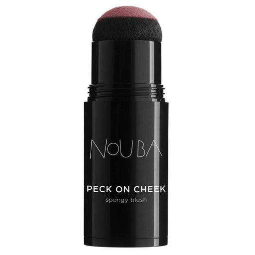 Blush Nouba Peck 01 Nouba Peck On Cheek  Spongy Blush Nouba