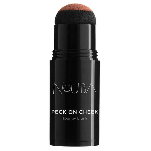 Blush Nouba Peck 02 Nouba Peck On Cheek  Spongy Blush Nouba