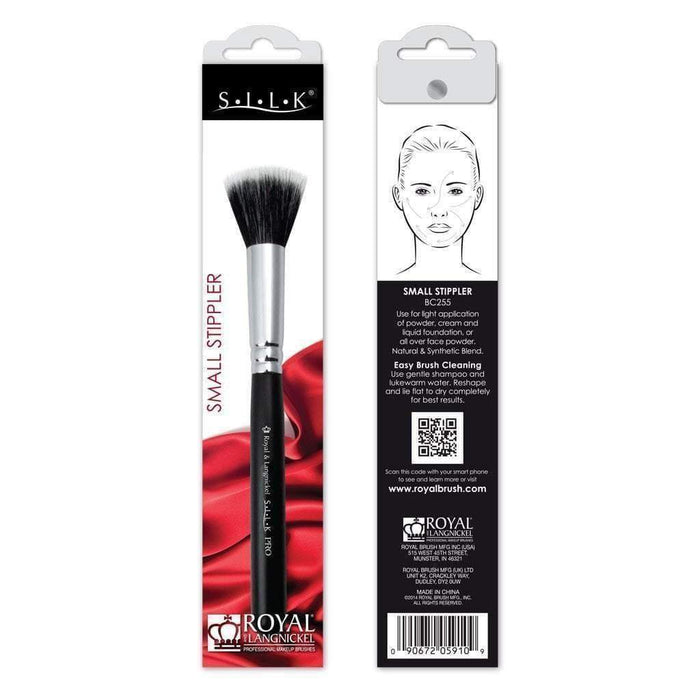 Face Brush Royal Langnickel SILK Small Stippler BC255 Royal Brush