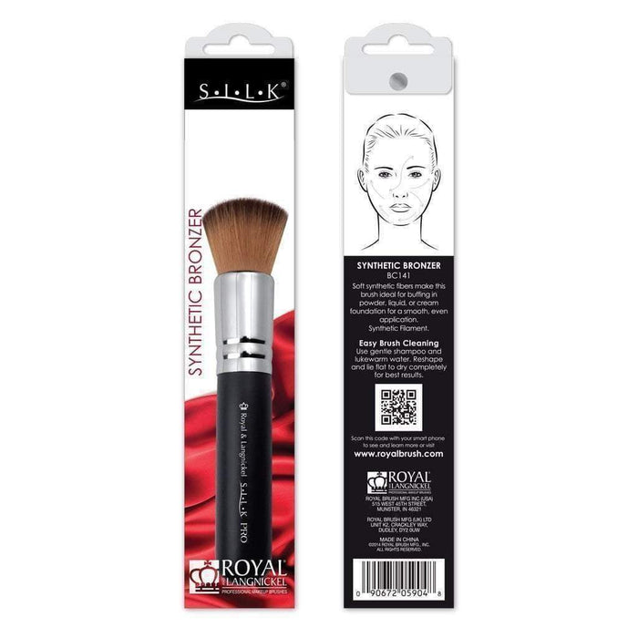 Face Brush Synthetic Bronzer Brush BC141 Royal Brush