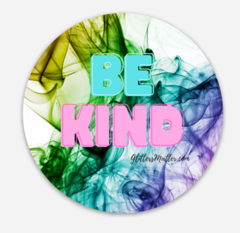 BE KIND Sticker - New