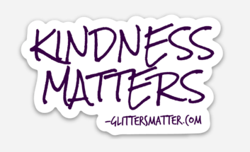 KINDNESS MATTERS Sticker - New