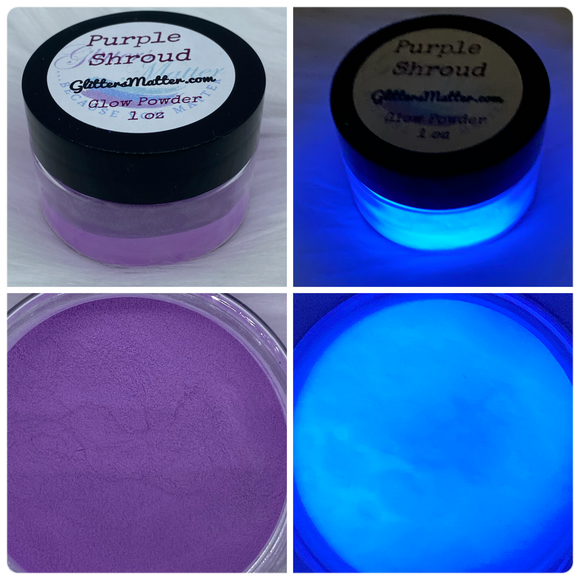 Purple Shroud ~ GLOW POWDER