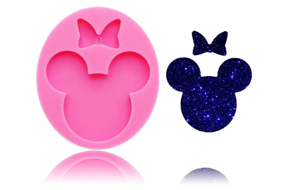 Small Minnie Bow Silicone Mold