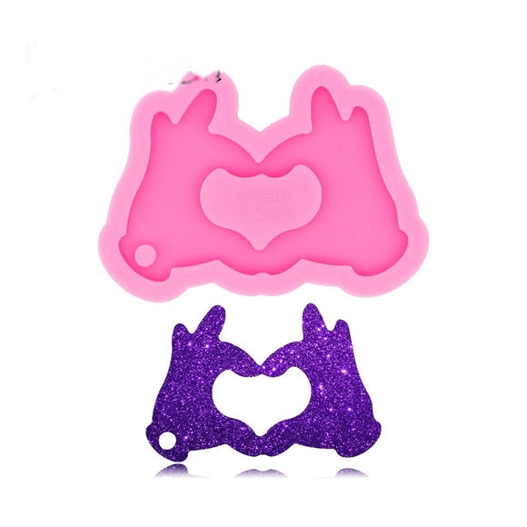 Heart Hands Silicone Mold