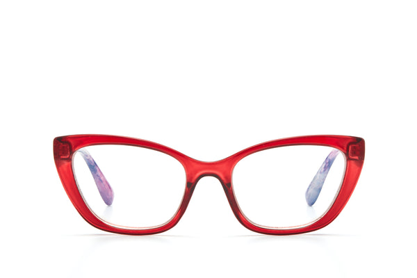 Red Reading Glasses