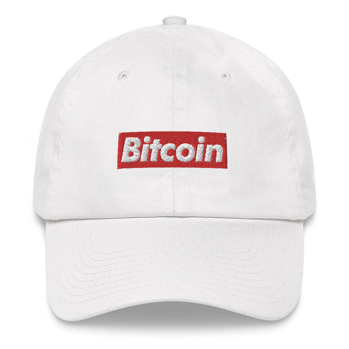 Bitcoin Box Logo Cap