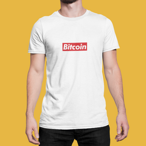Bitcoin Box Logo Tee