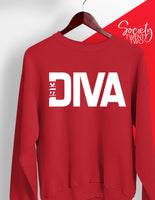 1913 Diva Red Sweatshirt
