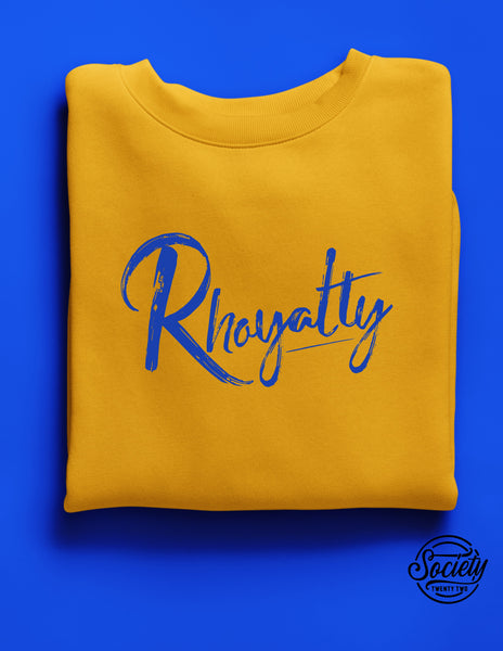 Rhoyalty Gold Sweatshirt