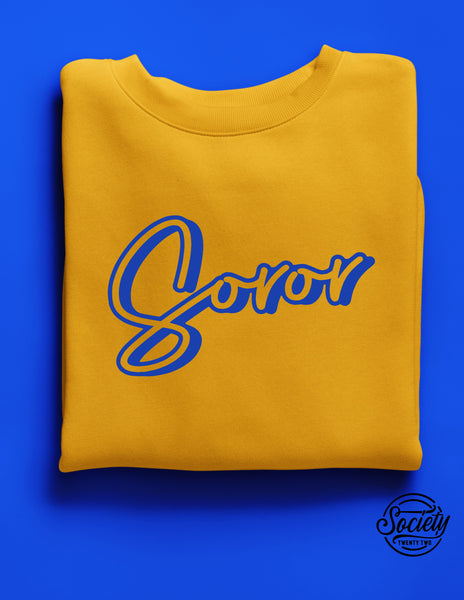 Soror Gold Sweatshirt