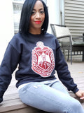 Sequin Crest Sweatshirt