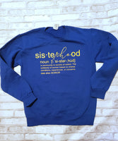 SisteRHOod Sweatshirt Royal