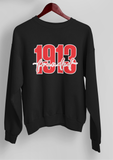 Founded 1913 Black Sweatshirt