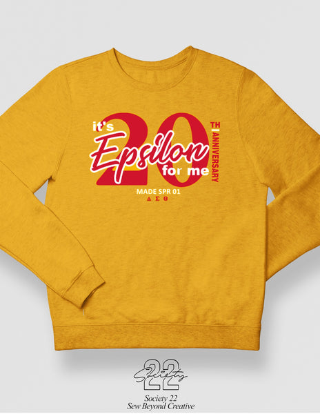 Epsilon for Me Spring 2001 Gold Crewneck