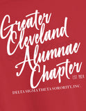 Greater Cleveland Alumnae Chapter Red Sweatshirt