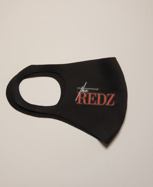 The Redz face mask cover - ready to ship