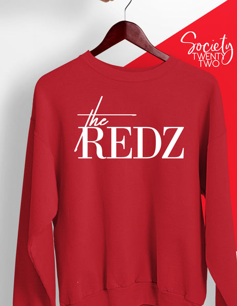 The Redz Sweatshirt in Red