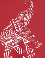 Tribal Print Elephant Tee