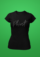 Phirst Black on Black Tee