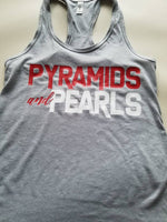 Pyramids and Pearls Racerback Tank