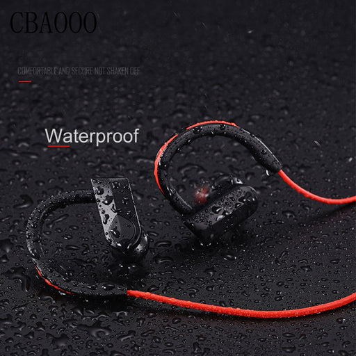 CBAOOO Sport Bluetooth Headphone Wireless Earphones Waterproof  Headset with Mic