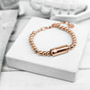 SF Mini Bracelet / Rose Gold