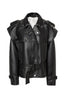04-5 Vegan Leather Biker Jacket