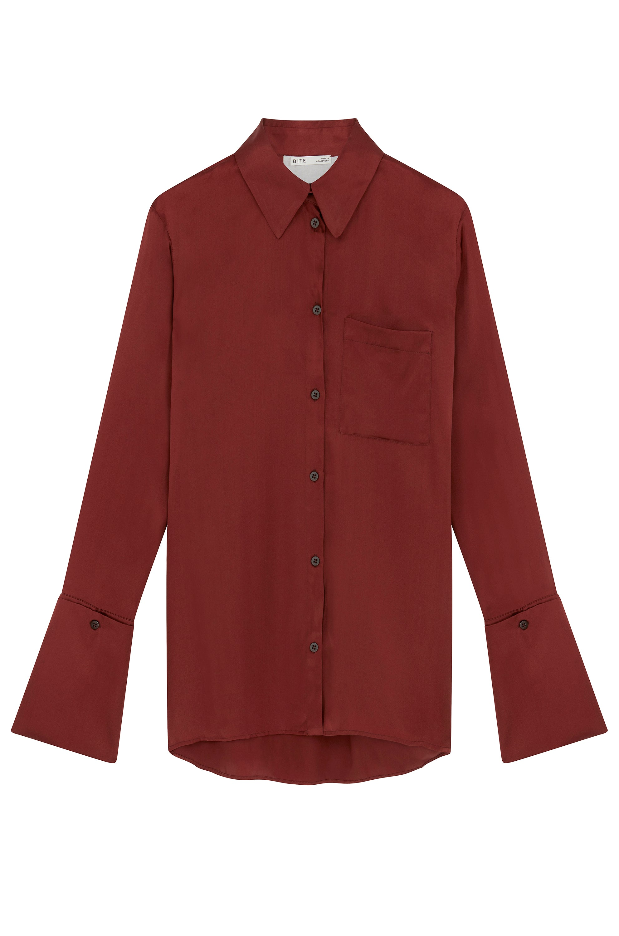 09-6 Signature Silk Shirt