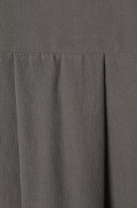 detail grey peace silk satin shirt