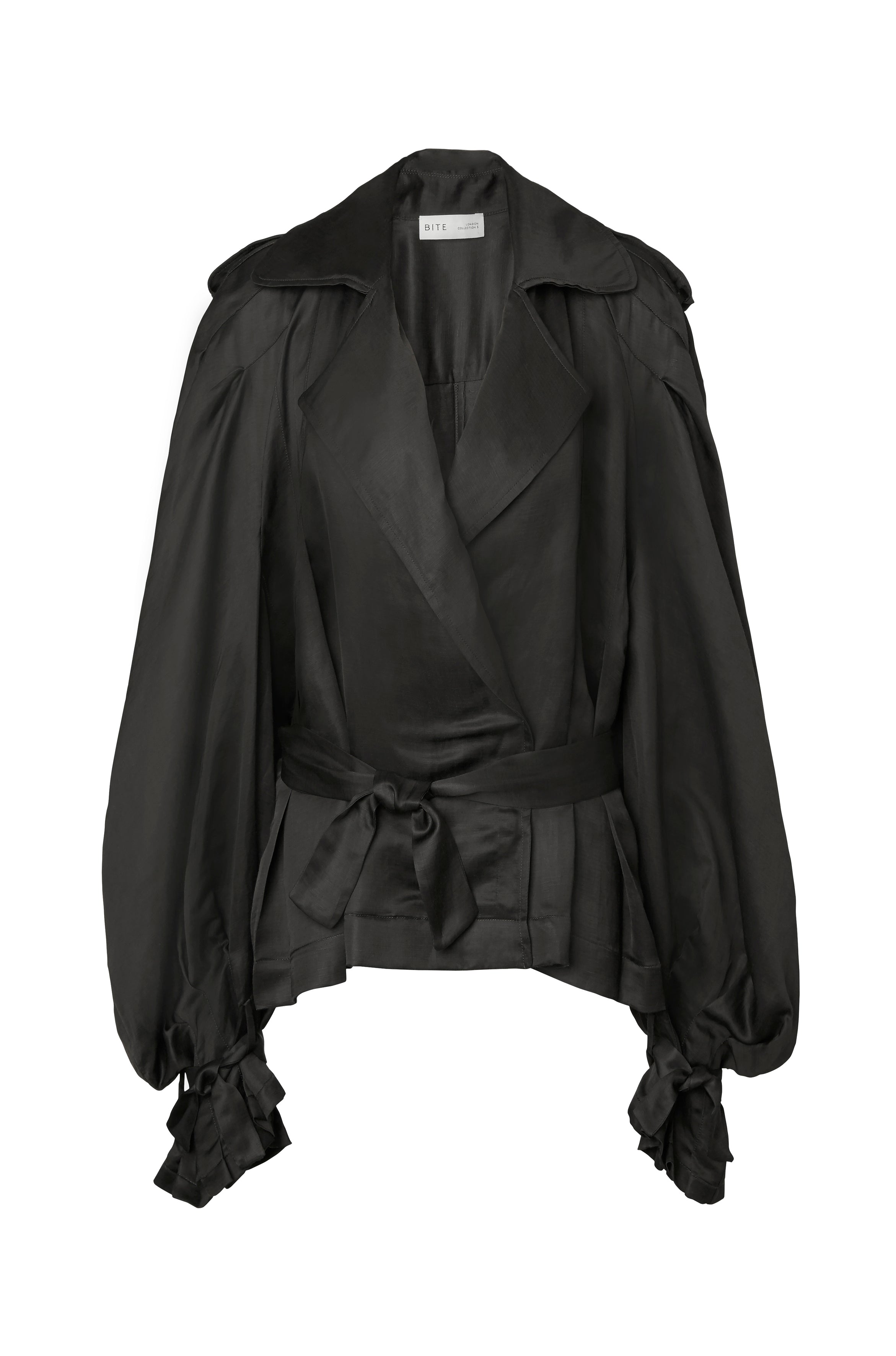 14-5 Pleated Trench Blouse