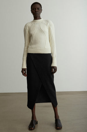 21-4 Heavy Knit Organic Sweater