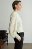 22-4 Braided Knit Organic Sweater
