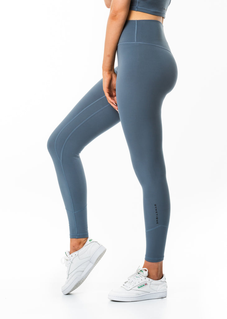 Women's grey full length leggings gym clothes New Zealand