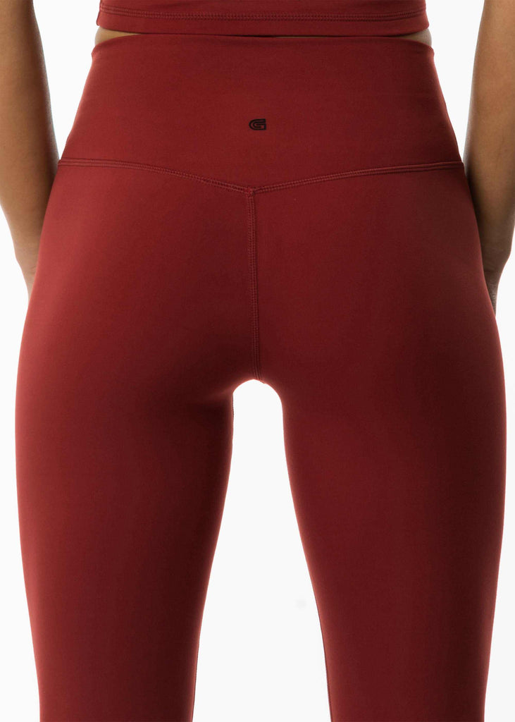 Women's best red leggings fitness wear
