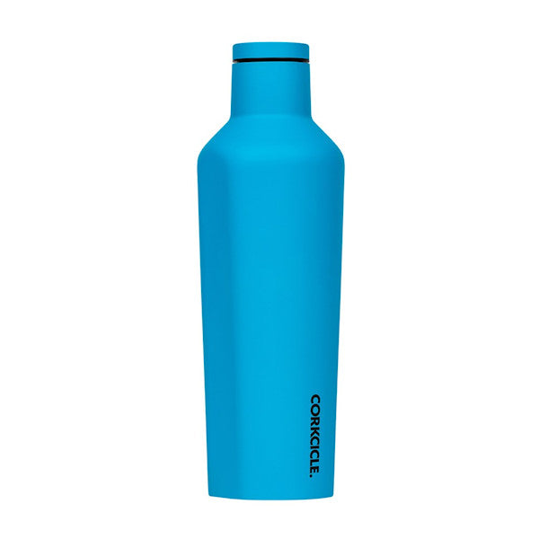 Corkcicle Drink Bottle - Blue Neon 25oz (740ml)