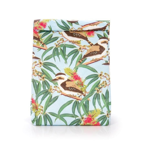 Australian Collection Paper Lunch Bag - Kookaburra