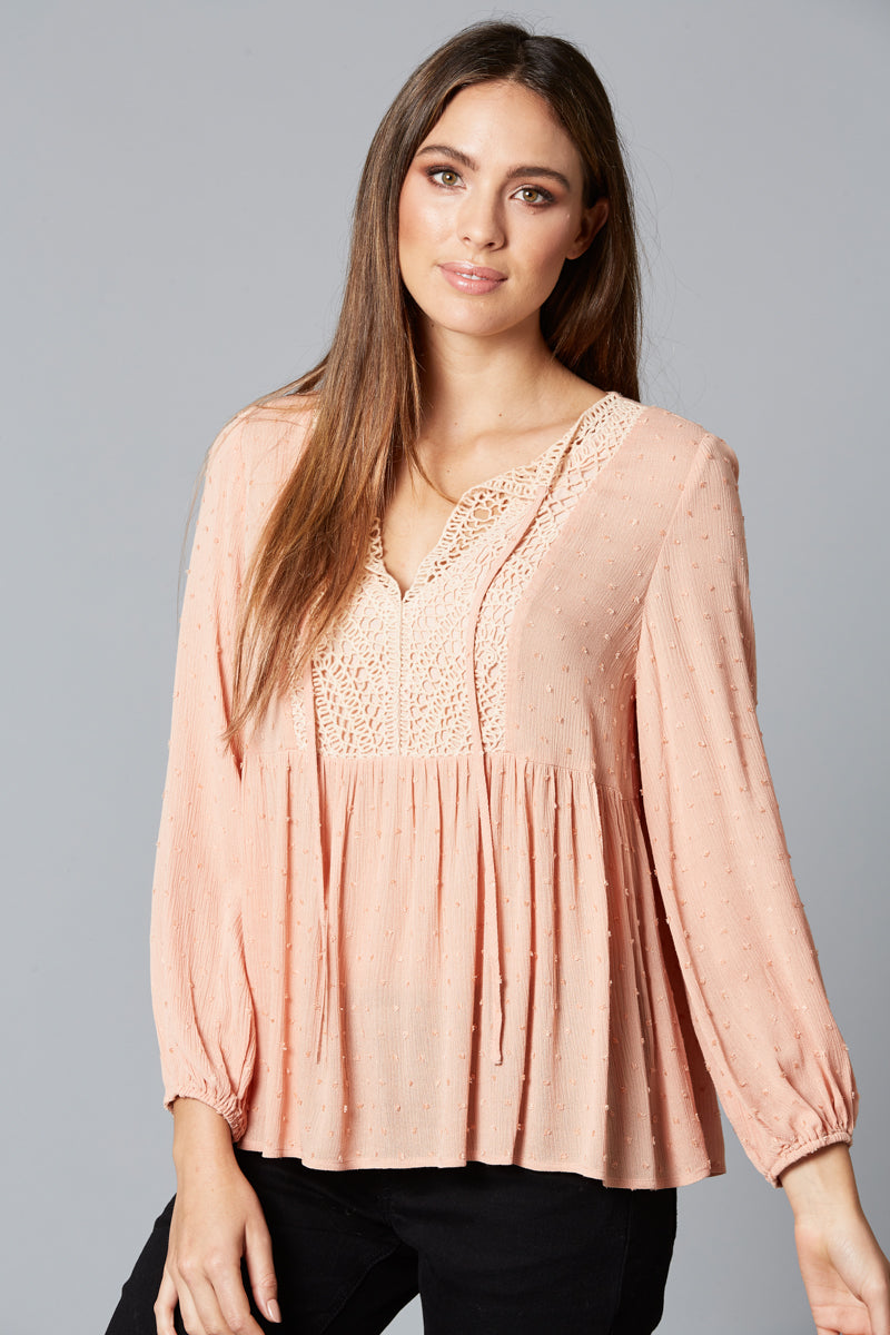 Isle of Mine - Lover Blouse (Blush)