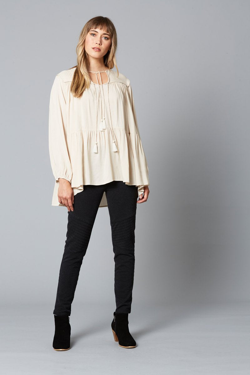 Isle of Mine - Dawn Tassel Top (Ivory)