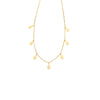 Jolie and Deen - Teardrop necklace (Gold)